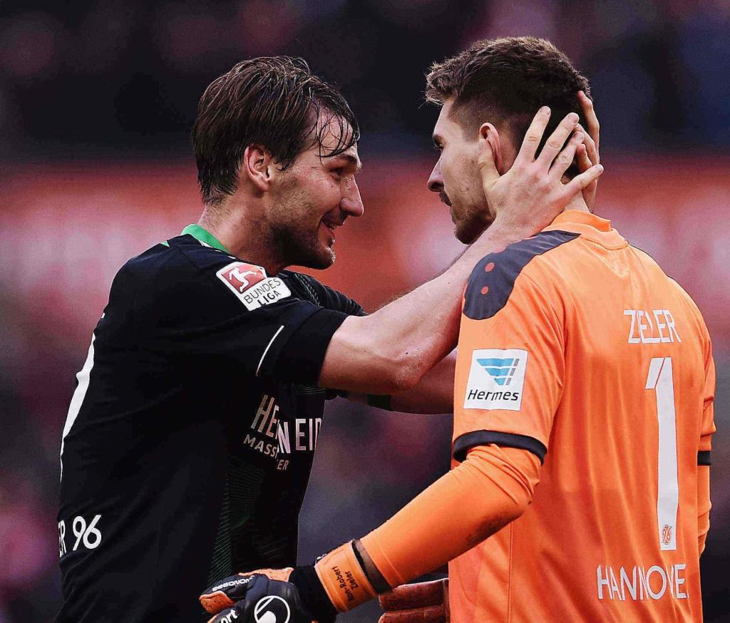 Christian Schulz und Ron-Robert Zieler: Zwei, die auch schon in Kopenhagen dabei waren. Foto: Getty Images