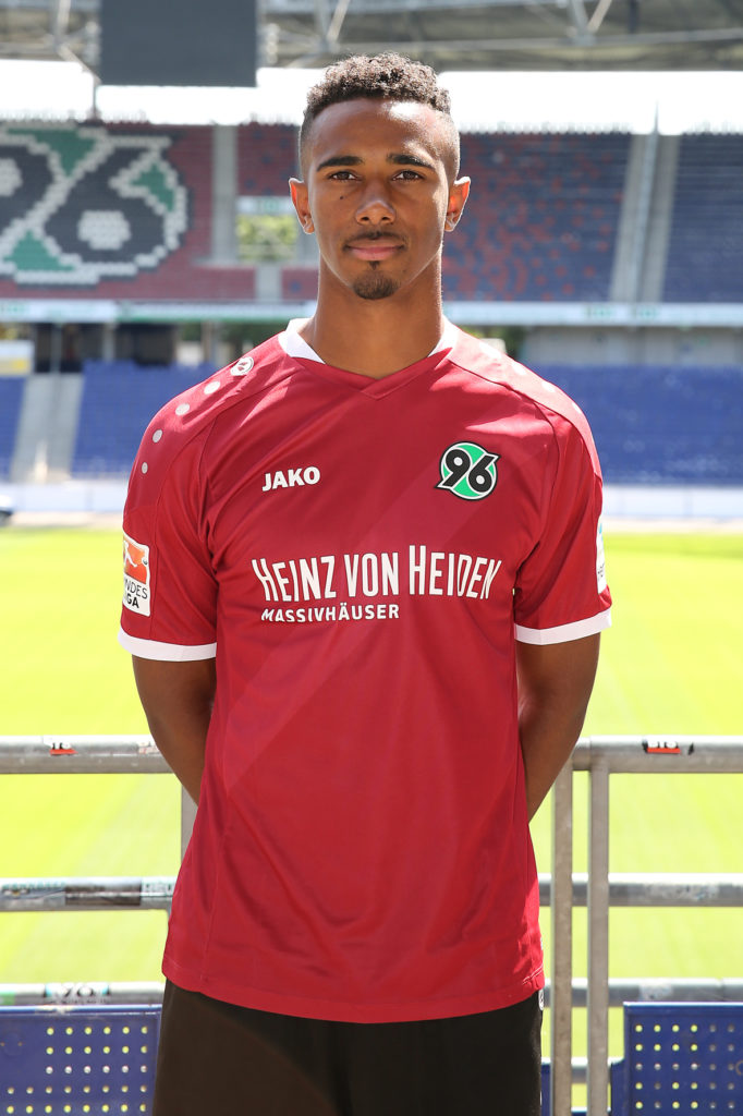 07.07.2016, Hannover Fussball, Fußball, GER, 2.BL, 2. Bundesliga, Portraettermin 2016-2017, Hannover 96, Noah Joel Sarenren Bazee