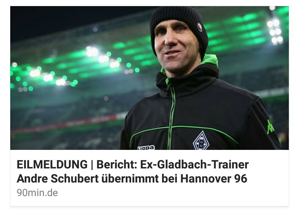 Trainer Hannover 96