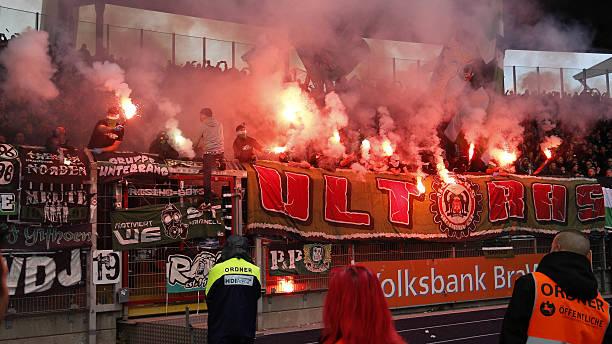 Pyrotechnik Hannover 96 Eintracht Braunschweig