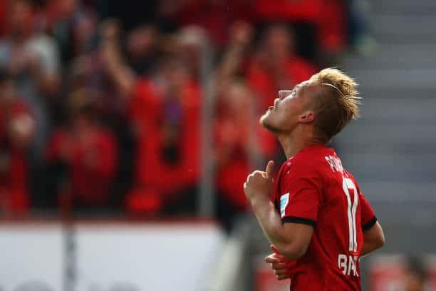 Joel Pohjanpalo Bayer Leverkusen Hannover 96
