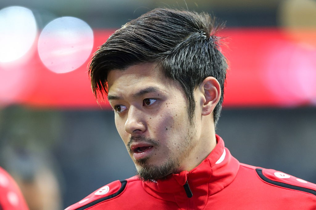 Hotaru Yamaguchi läuft für Japan auf. Bei Hannover 96 war er ein Fehleinkauf. Er spielte in der Rückrunde 2016 für die Roten.