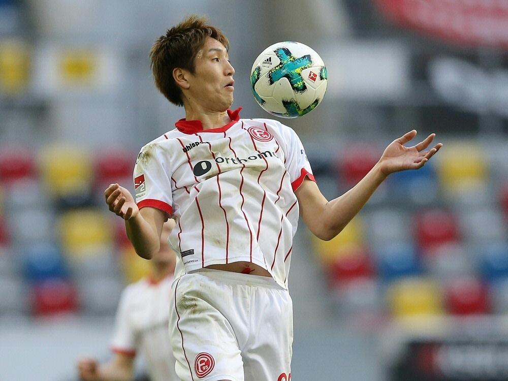 Genki Haraguchi unterschreibt bei Hannover 96 bis 2021 (Photo by FIRO/FIRO/SID/)