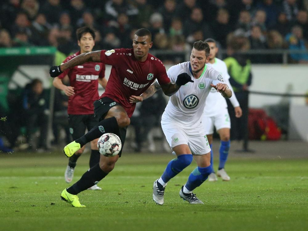 Hannover 96 musste sich erneut geschlagen geben (Photo by FIRO/FIRO/SID/)