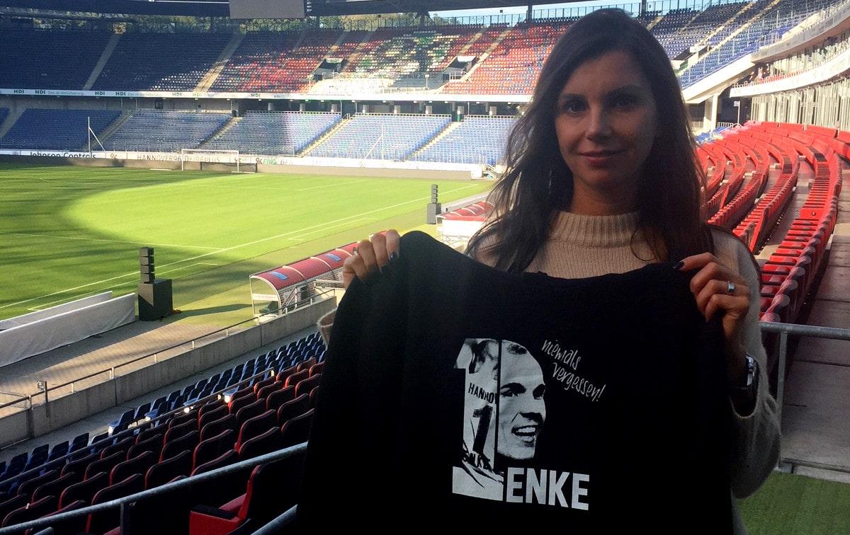 Teresa Enke Pulli Aktion 2018