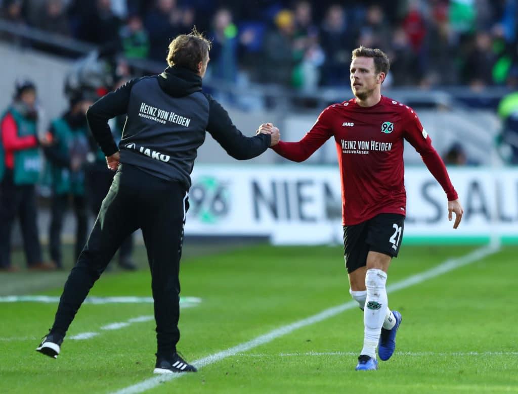 Hannover 96 tabellenplatz