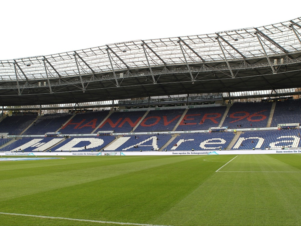 Die HDI-Arena in Hannover (Photo by pixathlon/pixathlon/SID/)
