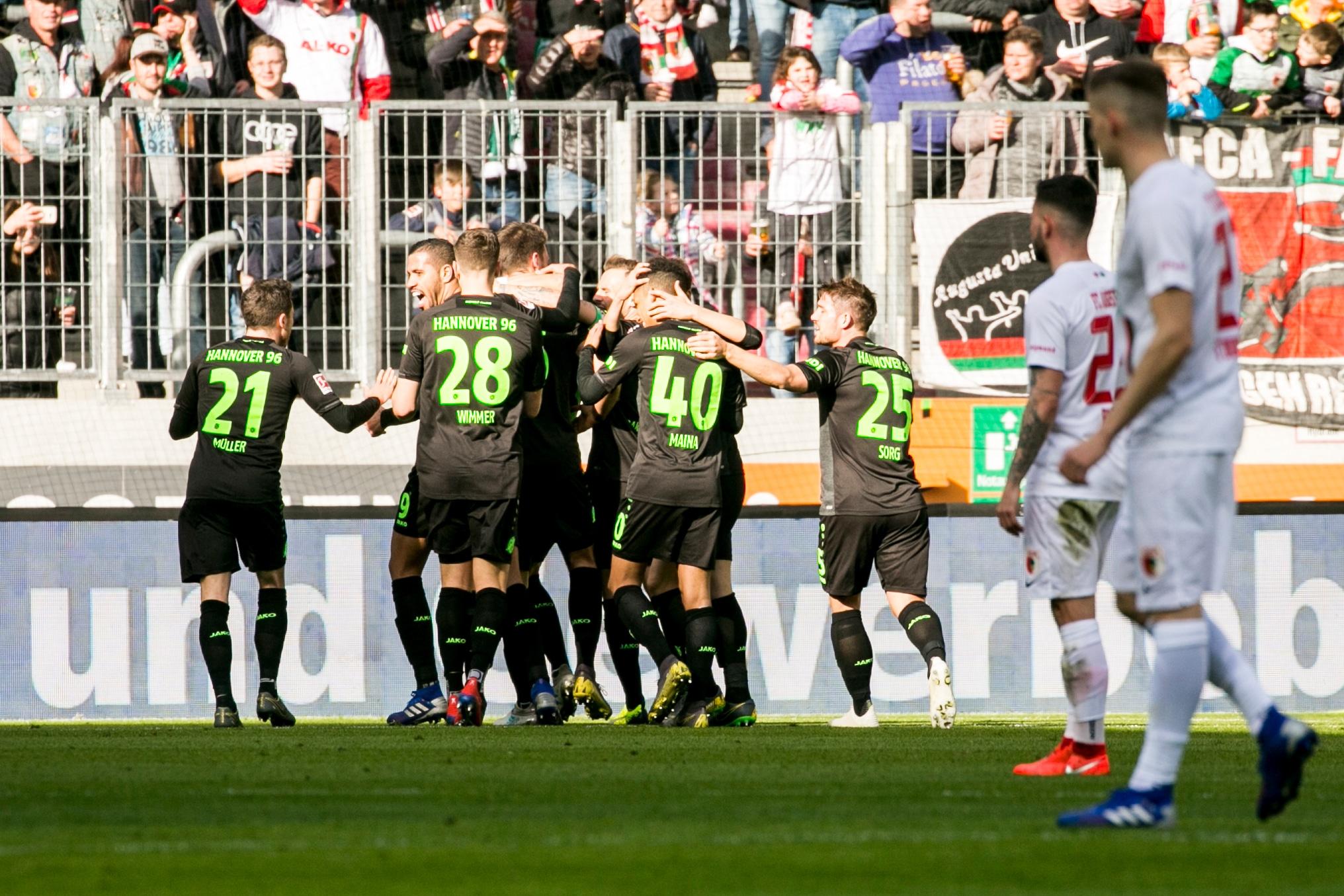 FC Augsburg v Hannover 96 – Bundesliga