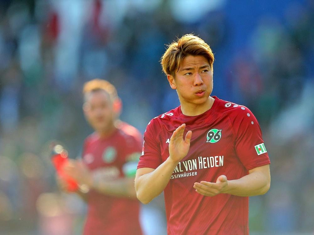 Hannover steigt trotz 3:0-Sieges in die zweite Liga ab (Photo by PIXATHLON/PIXATHLON/SID/)