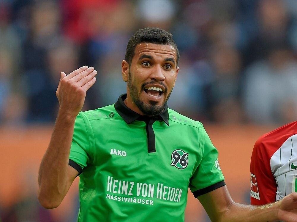 Hannover 96 trennt sich von Stürmer Jonathas (Photo by PIXATHLON/PIXATHLON/SID/)