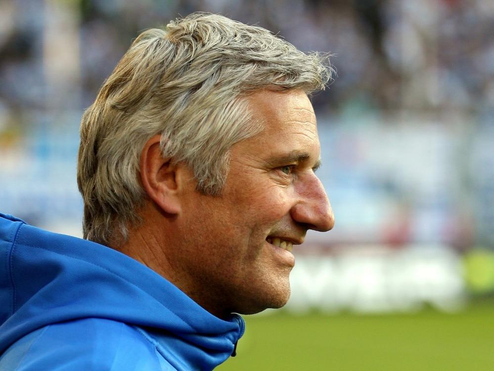 Andreas Bergmann zu psychischen Problemen im Fußball (Photo by FIRO/FIRO/SID/)