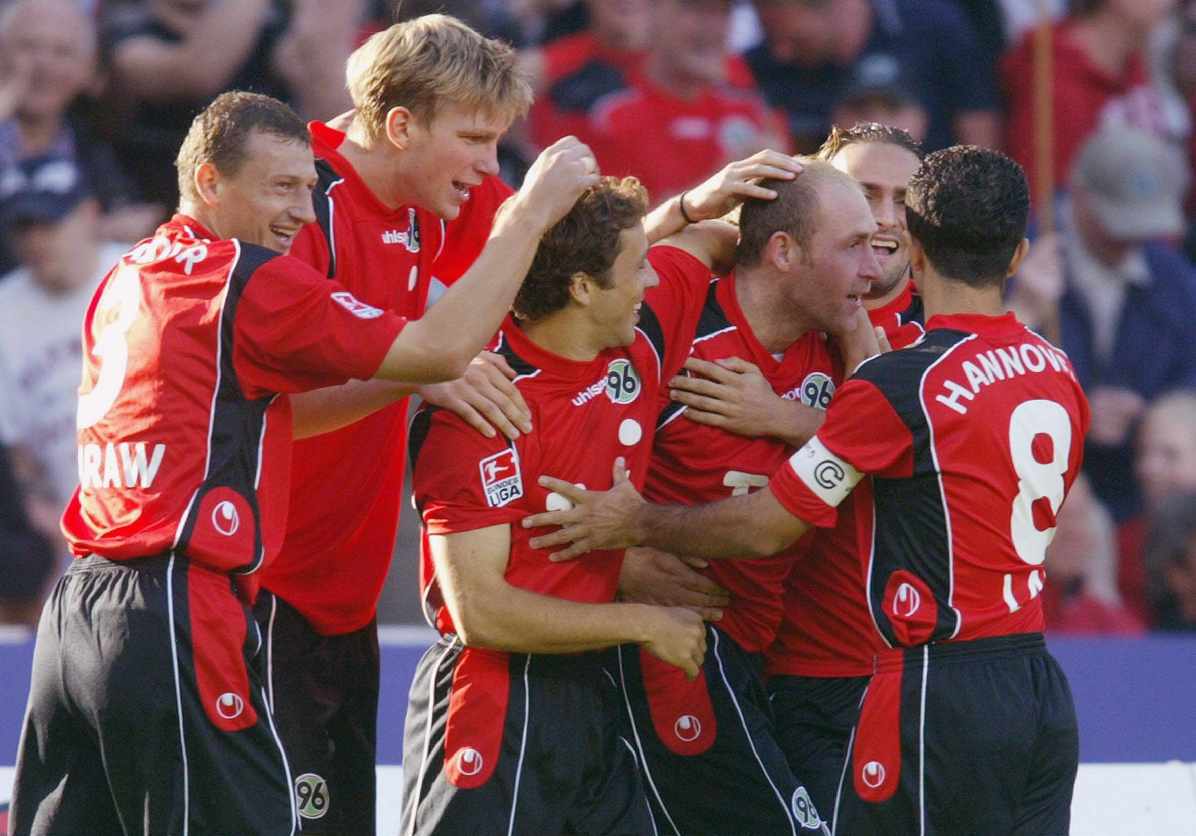 FB: 1. Bundesliga 04/05, Hannover 96-SC Freiburg