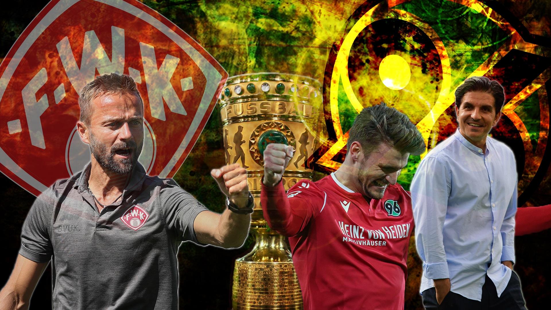 DFB Pokal Würzburg Hannover