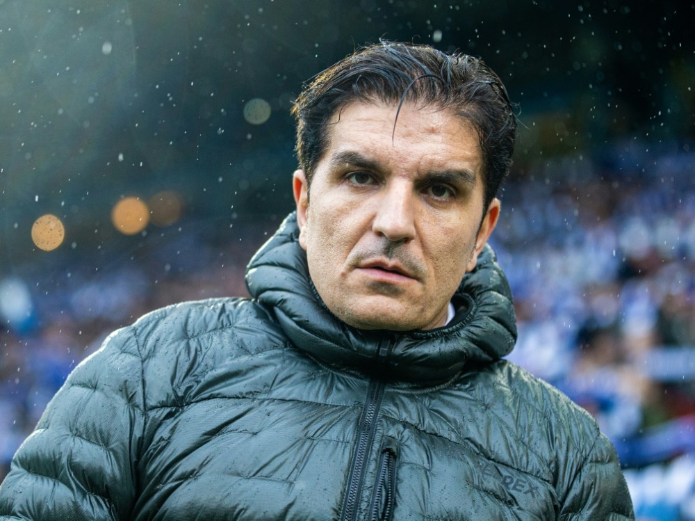 "Trainer Kenan Kocak hat ein ""Riesenspiel"" gesehen. (Photo by FIRO/FIRO/SID/)"