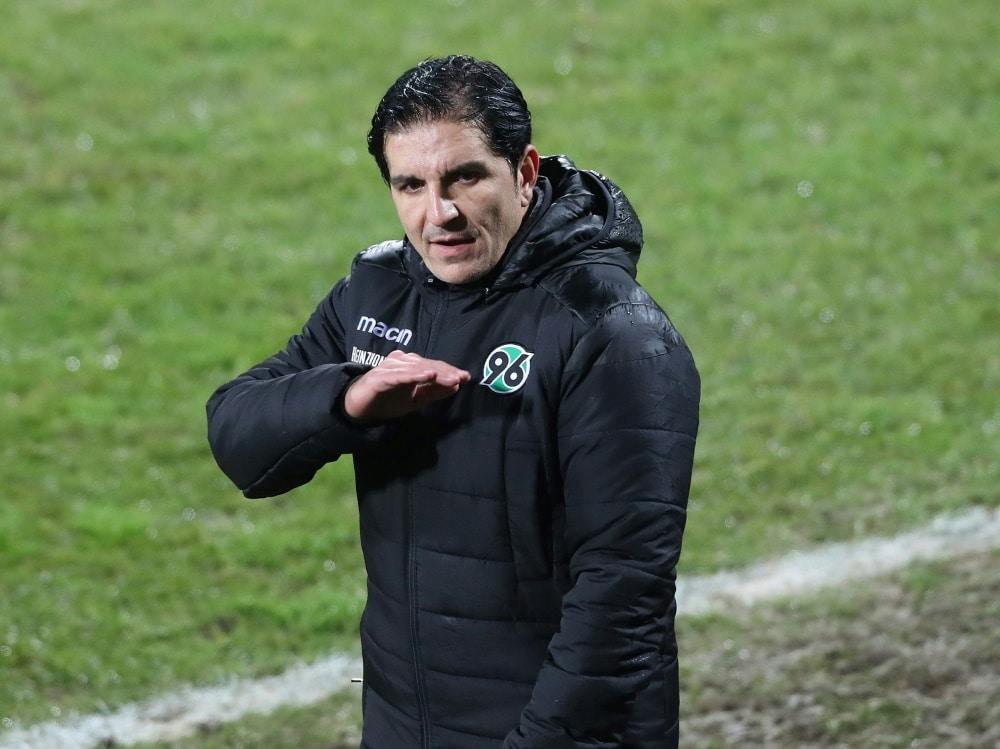 Kocak verzichtet gegen Fürth auf Falette (Photo by FIRO/FIRO/SID/)