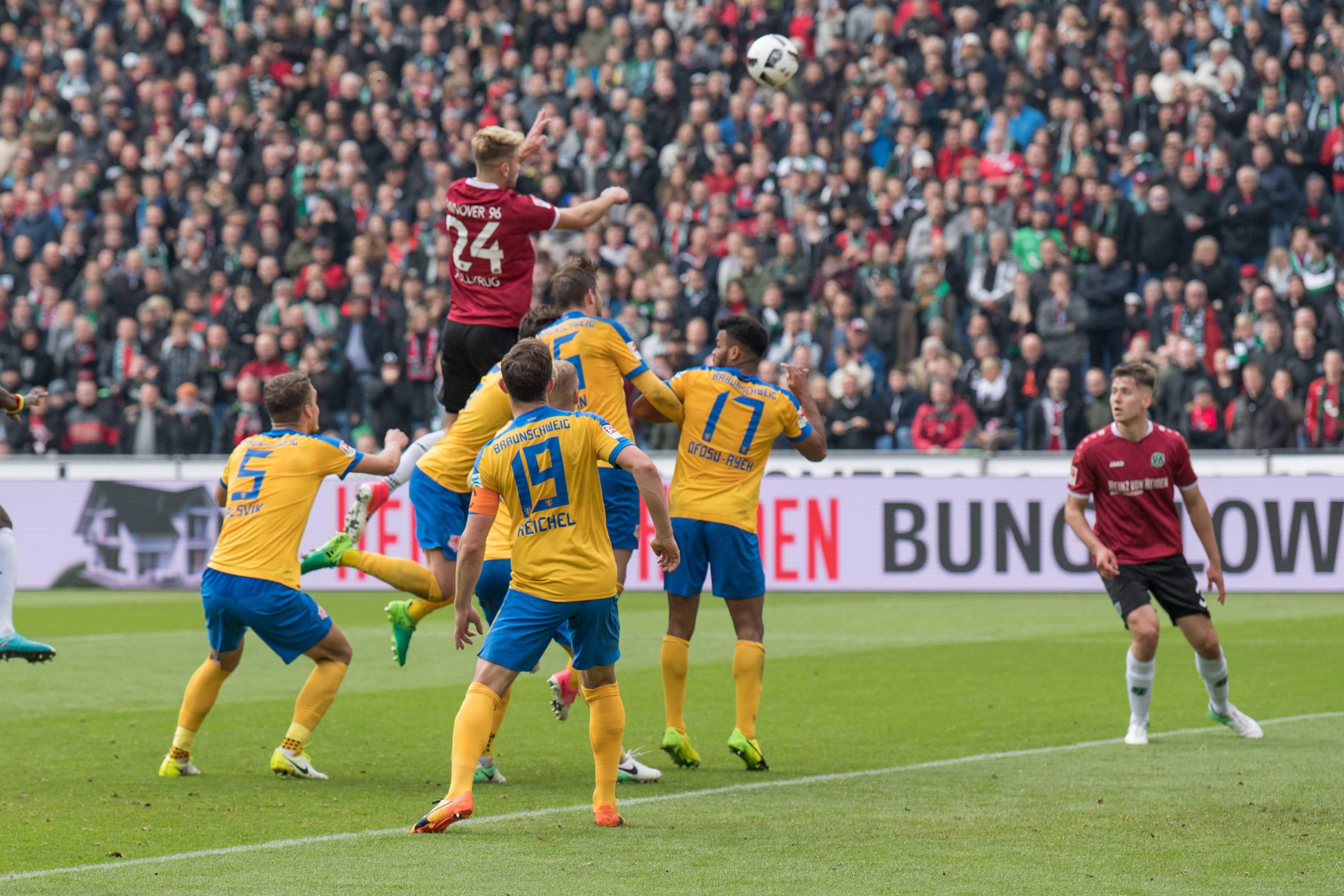 GER 2 FBL Hannover 96 vs Eintracht Braunschweig 15 04 2017 HDI Arena Hannover GER 2 FBL Hanno