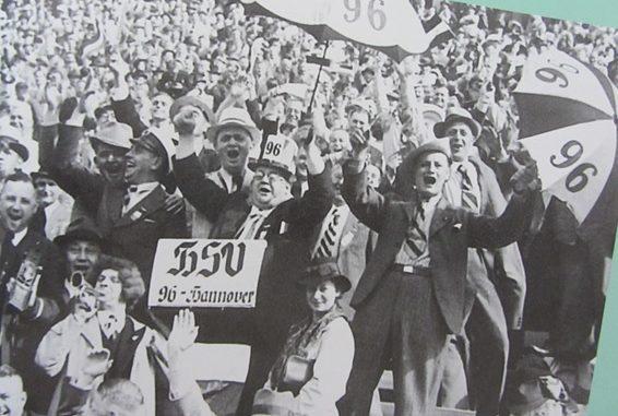 Hannover 96 wurde 1938 zum ersten Mal Deutscher Meister. Foto: Chronik hannover96.de