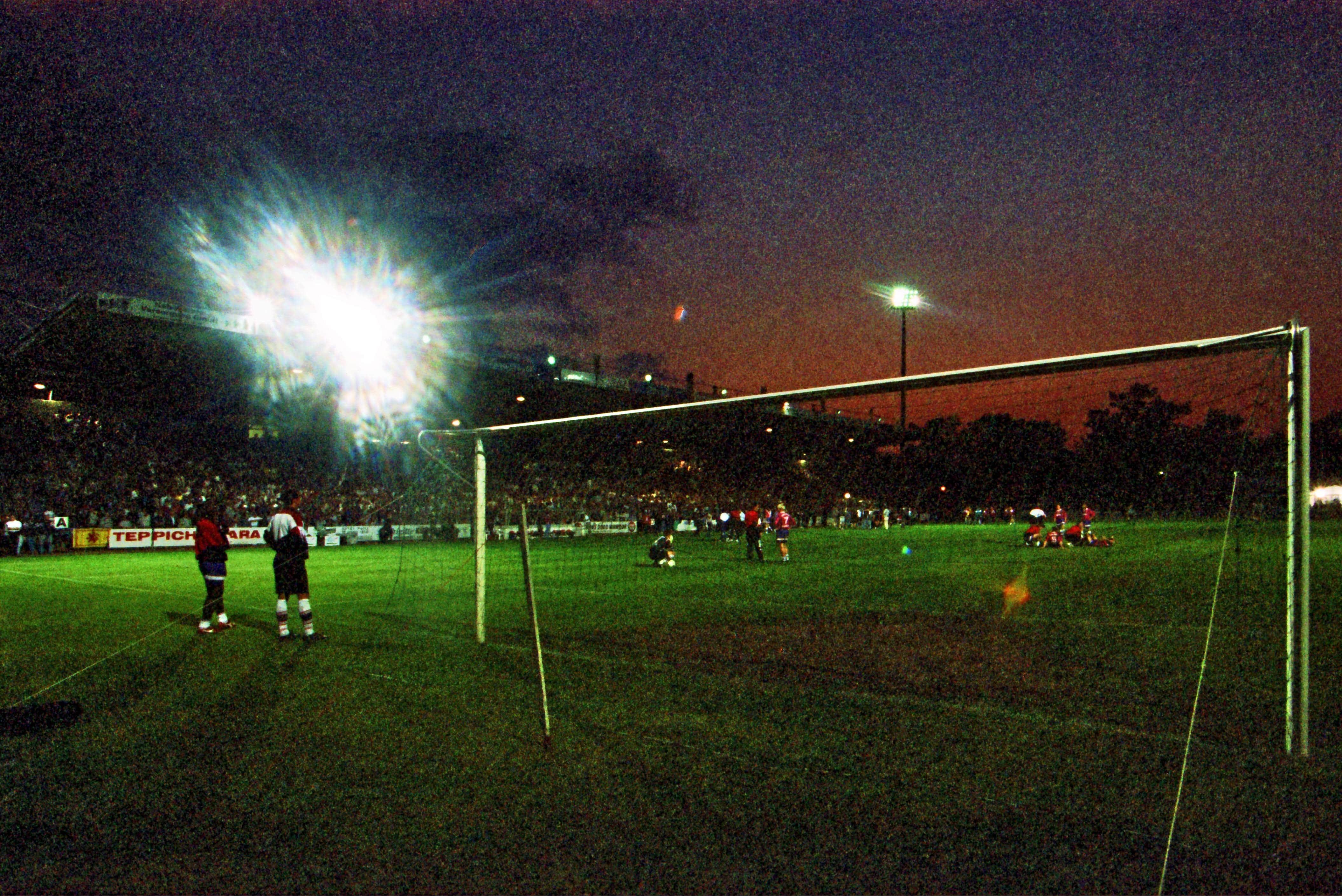 Aus 2 Relegationsspiel Saison 1996 07 Aufstieg zur 2 BL FC Energie Cottbus Hannover 96 3 1 am 0